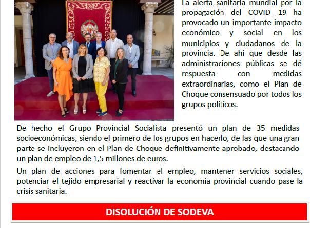 """El Grupo Provincial Socialista distribuye """"Valladolid: nuestra provincia"""""""